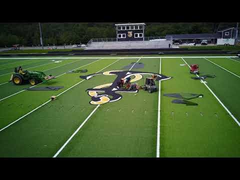 Glen Lake School Football Field Update