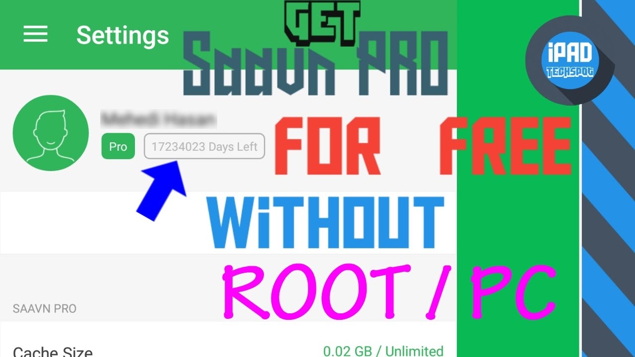 How To Get Saavn Pro (LifeTime) For FREE No ROOT / PC / ++App 2017