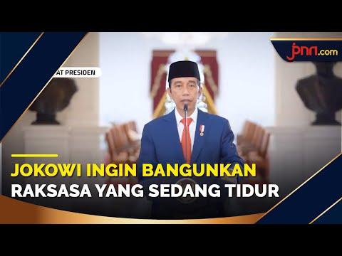 Presiden Jokowi: Indonesia Harus jadi Pusat Keunggulan Ekonomi Syariah di Tingkat Global