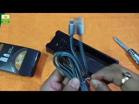 [Hindi] Pebble Fast Charge Micro USB Cable Review