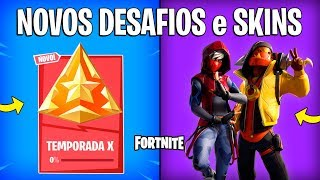 FORTNITE-WEEKLY CHALLENGES, NEW SKINS and ITEMS! -Season 10