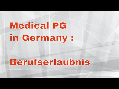 Work in Germany as a Doctor with a Temporary Medical License (Berufserlaubnis)