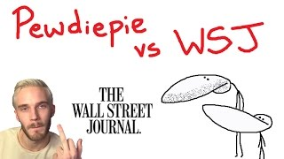 pewdiepie vs wsj the bigger problem with the media