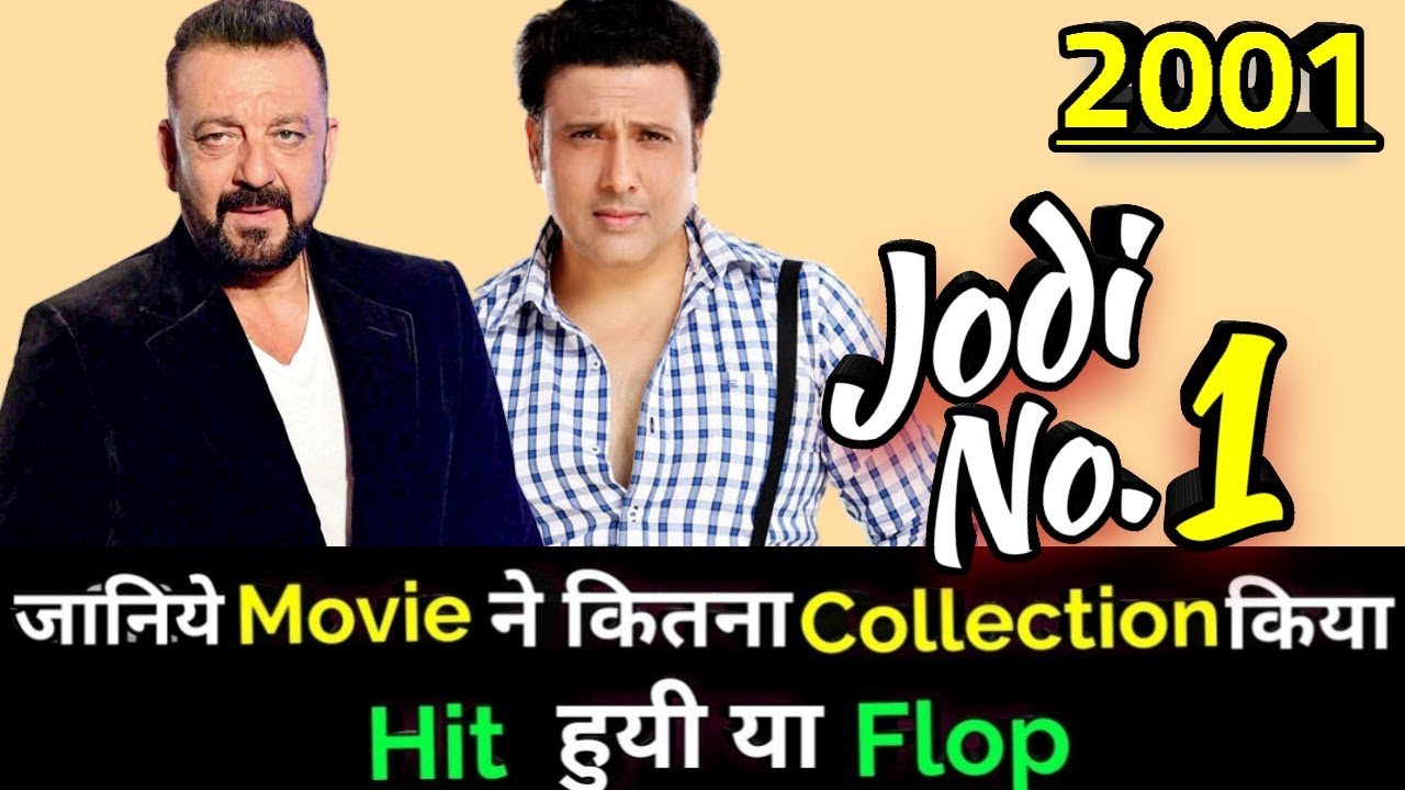Govinda Sanjay Dutt JODI No. 1 2001 Bollywood Movie ...