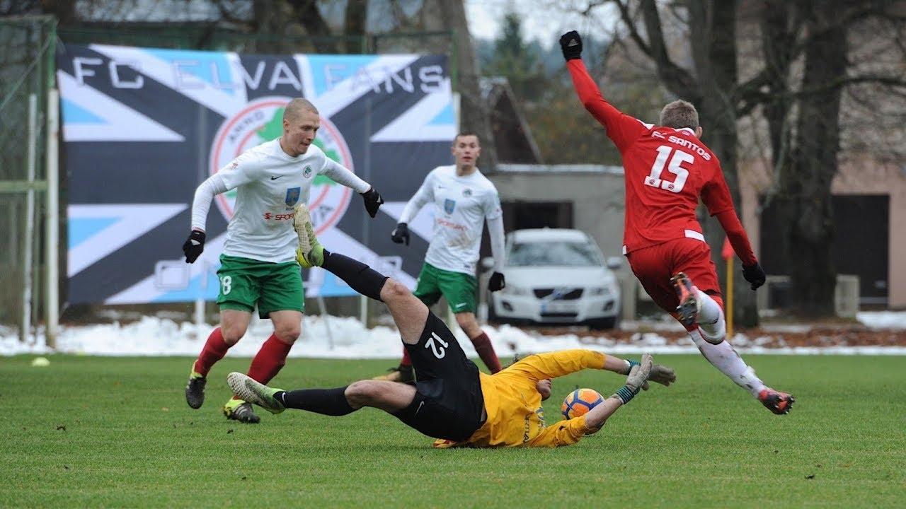 09bdc69c4a7f2 FC Elva - Tartu FC Santos (0 3) 0 3 - YouTube