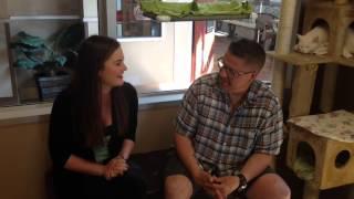 Cfcw's Sean Burke Visits The Edmonton Humane Society.