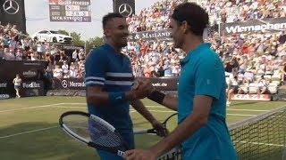 Roger Federer vs Nick Kyrgios - Stuttgart 2018 - Full 3rd Set Tiebreak - Highlights