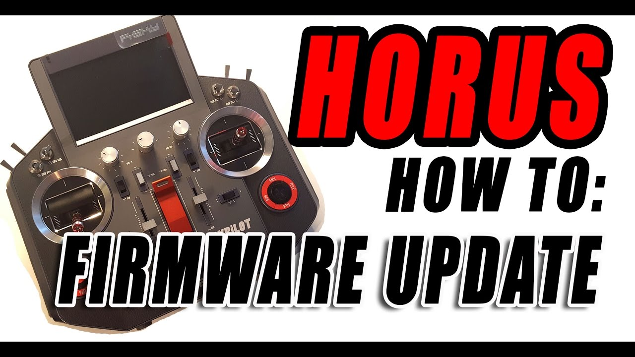 Frsky HORUS : How to update your FrOS FIRMWARE | ImpressPages lt