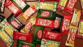 Сладкая посылка. Японский Kit Kat. Шоколад с необычными вкусами