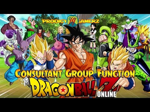 Dragon Ball Z Online - Consultant Group Function