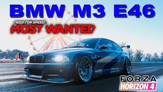 BMW M3 E46 NEED FOR SPEED MOST WANTED REPLICA