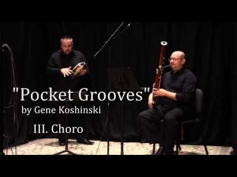 """Pocket Grooves"" by Gene Koshinski  (III. Choro)"