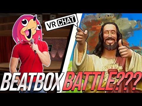Beatbox Battling JESUS in VRChat!!!