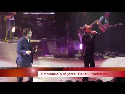 Emmanuel y Mijares Tu´r Amigos Puebla Auditorio Metropolitano 2015