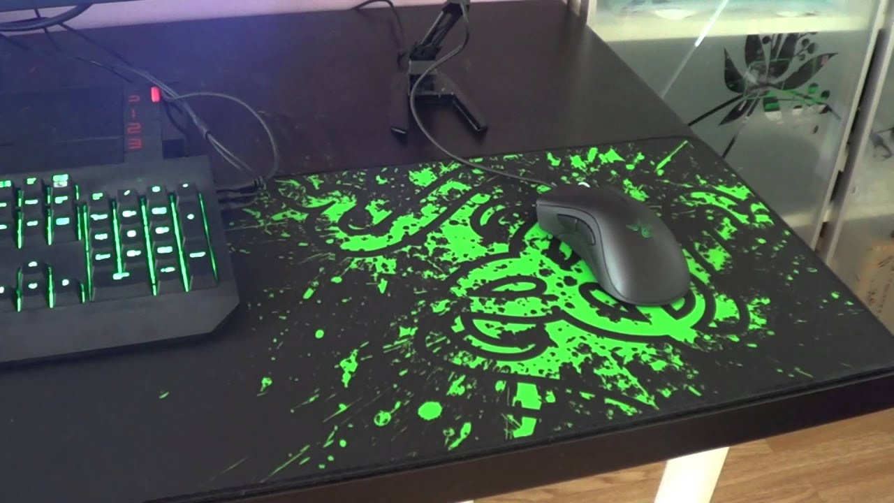 0282e0fcb30 Razer Goliathus Extended Speed Edition Gaming Mouse Pad- Mini Review ...