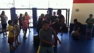 la boxing ufc gym hb kids class harlem shake