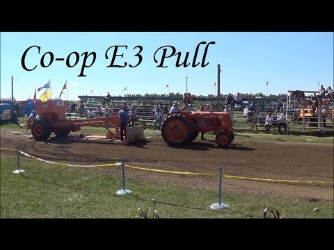 Co-op E3 Tractor Pull