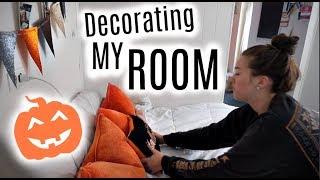 DECORATING MY ROOM FOR FALL!! Weekly Vlog #1|Kenzie Borowski