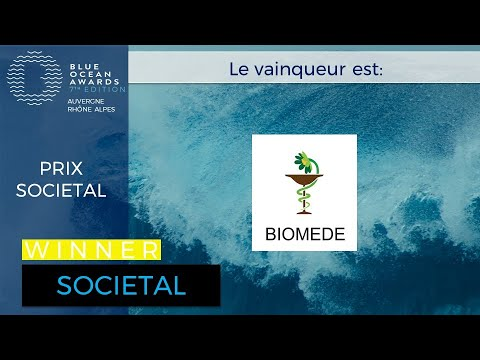 BIOMEDE: gagnant prix SOCIETAL BOA7 Lyon