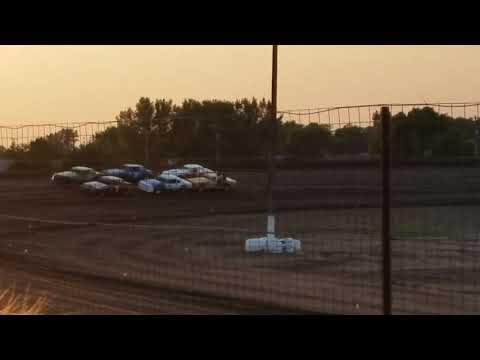 8-18-17 Wagner Speedway heat race