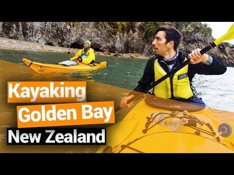Kayaking in Golden Bay to Abel Tasman National Park - New Zealand's Biggest Gap Year