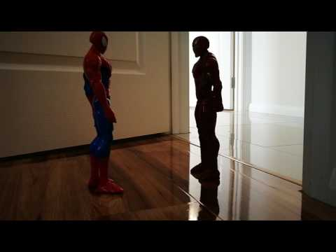Spiderman and iron man disappear