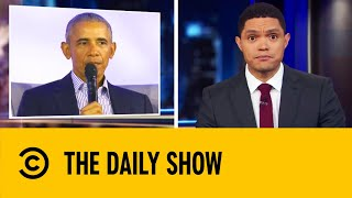 Obama Challenges 'Woke Culture' | The Daily Show With Trevor Noah