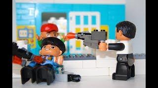LEGO Ограбление Банка  Лего Мультики