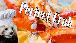 Crab Expert Prepares The Perfect Crab