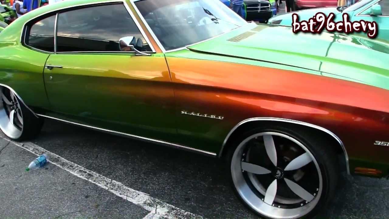 Chameleon 70 Chevy Chevelle on 22\