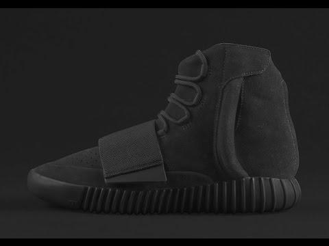 "04e4066ee16 adidas Yeezy 750 Boost ""Black""  On feet  + RELEASE INFO - YouTube"