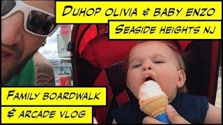 Duhop Seaside Heights Nj Boardwalk & Arcade Family Vlog