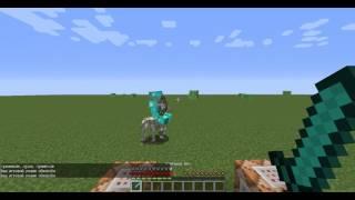 Создаём босса в minecraft - Призрачный всадник в Minecraft без модов