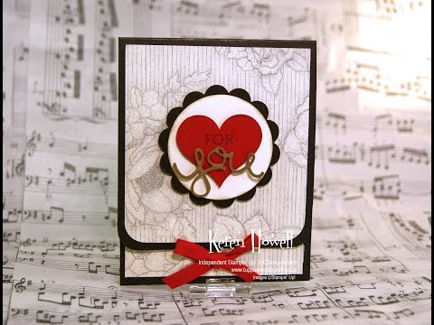 Stampin' Up! Gift Card Holder