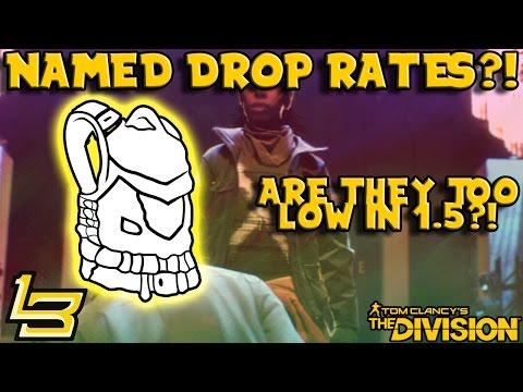 Rare Item Drop Rate Too Low?! (The Division)