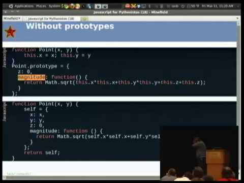 Javascript for people who know Python - PyCon US 2011