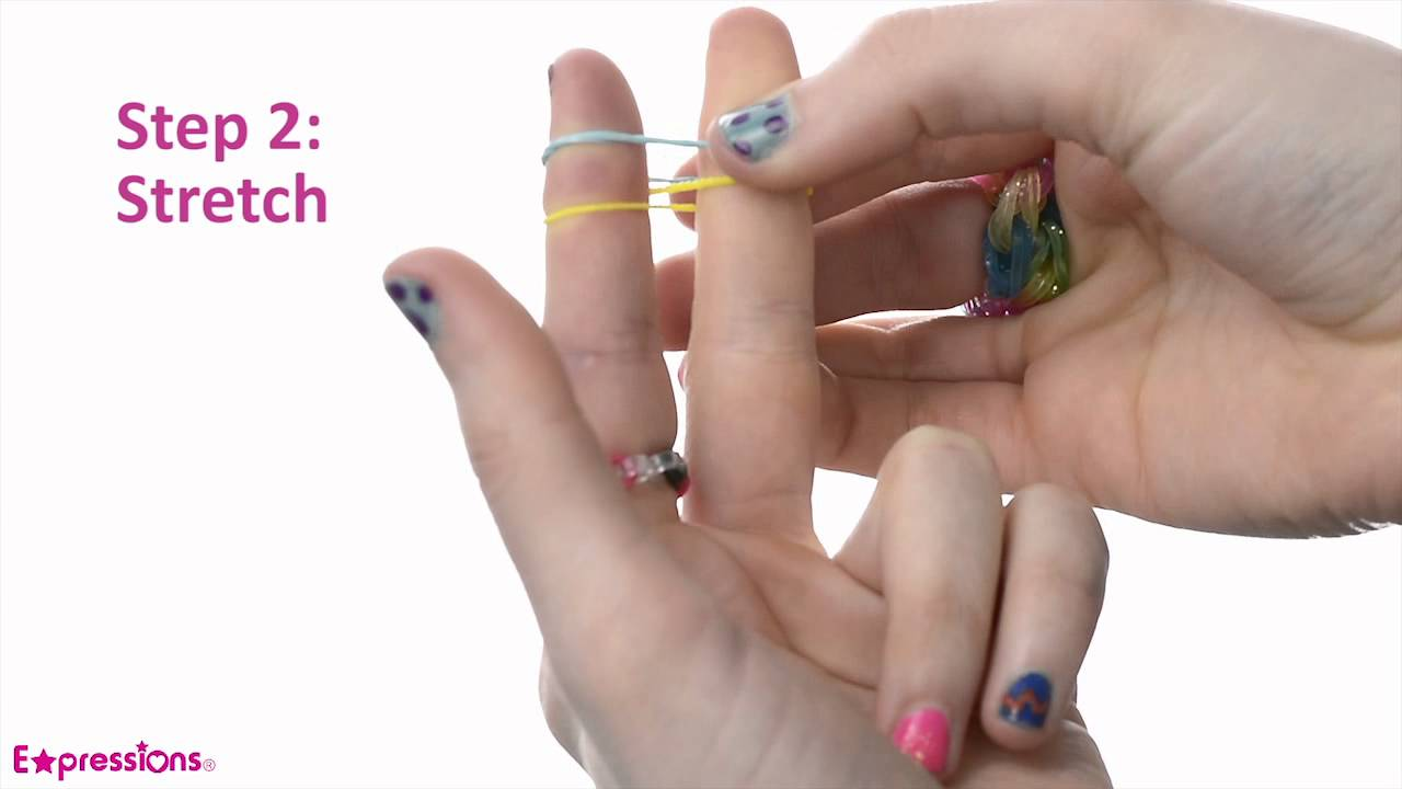 Expressions By Almar Diy  Learn To Make Rubberband Bracelets  Youtube