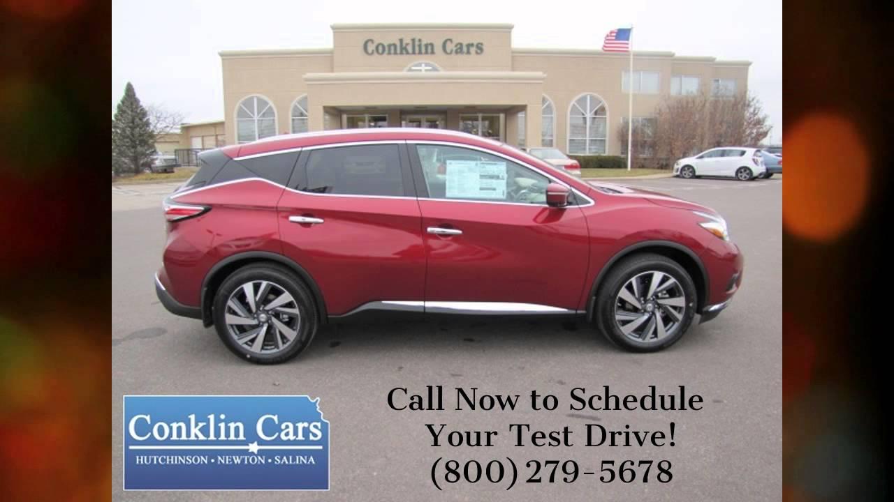 Conklin Cars Hutchinson Ks >> NEW 2015 Nissan Murano Platinum AWD - Available Now - Conklin Cars Hutchinson/Newton/Wichita ...