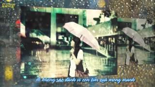 [HD + Kara Lyrics] Con Tim Mong Manh - Miu Lê