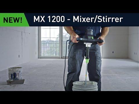 MX 1200 Mixer: Maximum Comfort and Control
