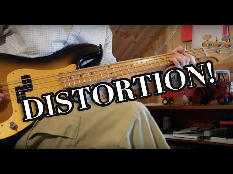 Distortion on bass? Yes!