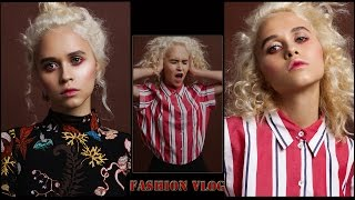 VLOG.Fashion съемка/backstage.