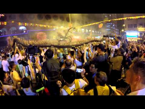 大坑中秋舞火龍  ( Tai Hang Fire Dragon Dance )