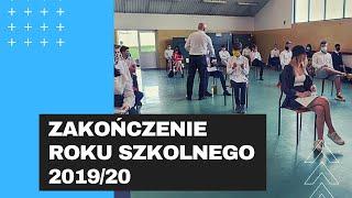 Zakończenie roku szkolnego 2020/19