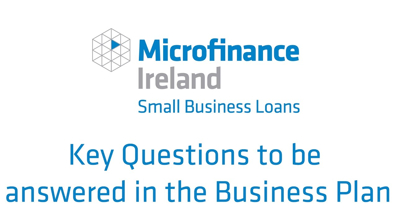 microfinance business plan
