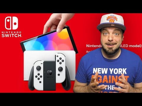 Download Nintendo Reveals The NEW Nintendo Switch OLED Model!