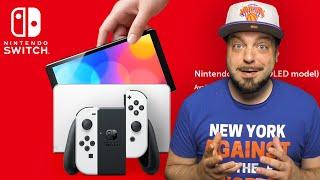 Nintendo Reveals The NEW Nintendo Switch OLED Model!