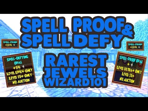 Wizard101 Best Pet Jewels & Where To Get Them! Spell Proof, Spell Defy Pet Jewels