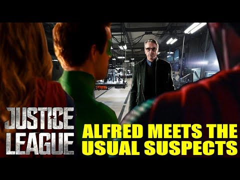 Alfred Meets The Usual Suspects - Justice League Movie Theory!