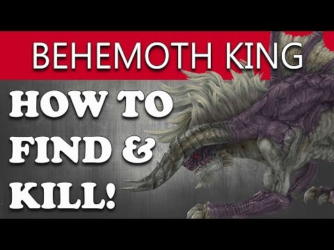 Final Fantasy XII The Zodiac Age How to Find & Kill BEHEMOTH KING (TRUTH SHROUDED IN MIST Guide)